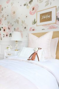 little girls room soft pink bedding