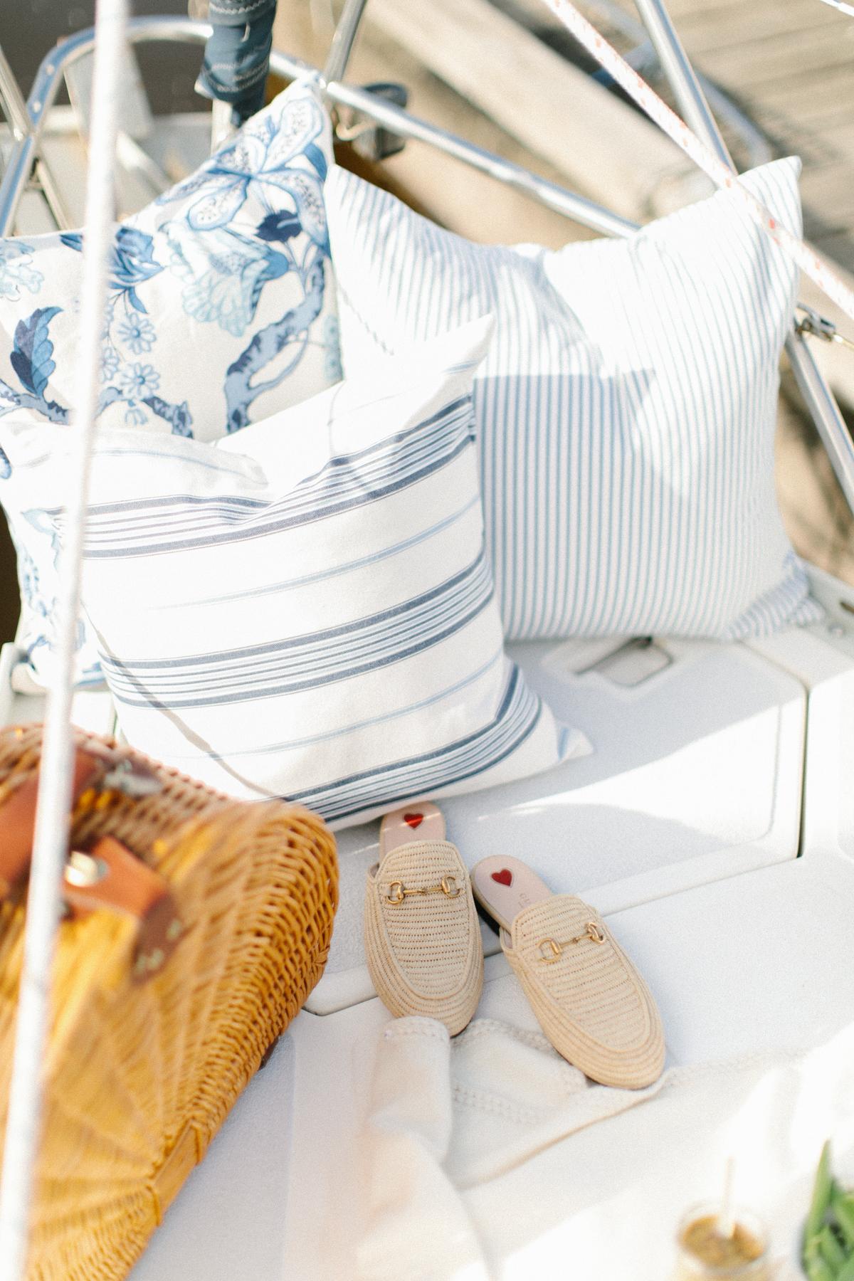 A Summer Picnic out Sailing