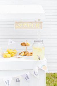 Lemonade Open sign