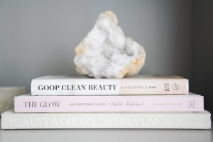 goop clean beauty the glow beauty at home books under a rock
